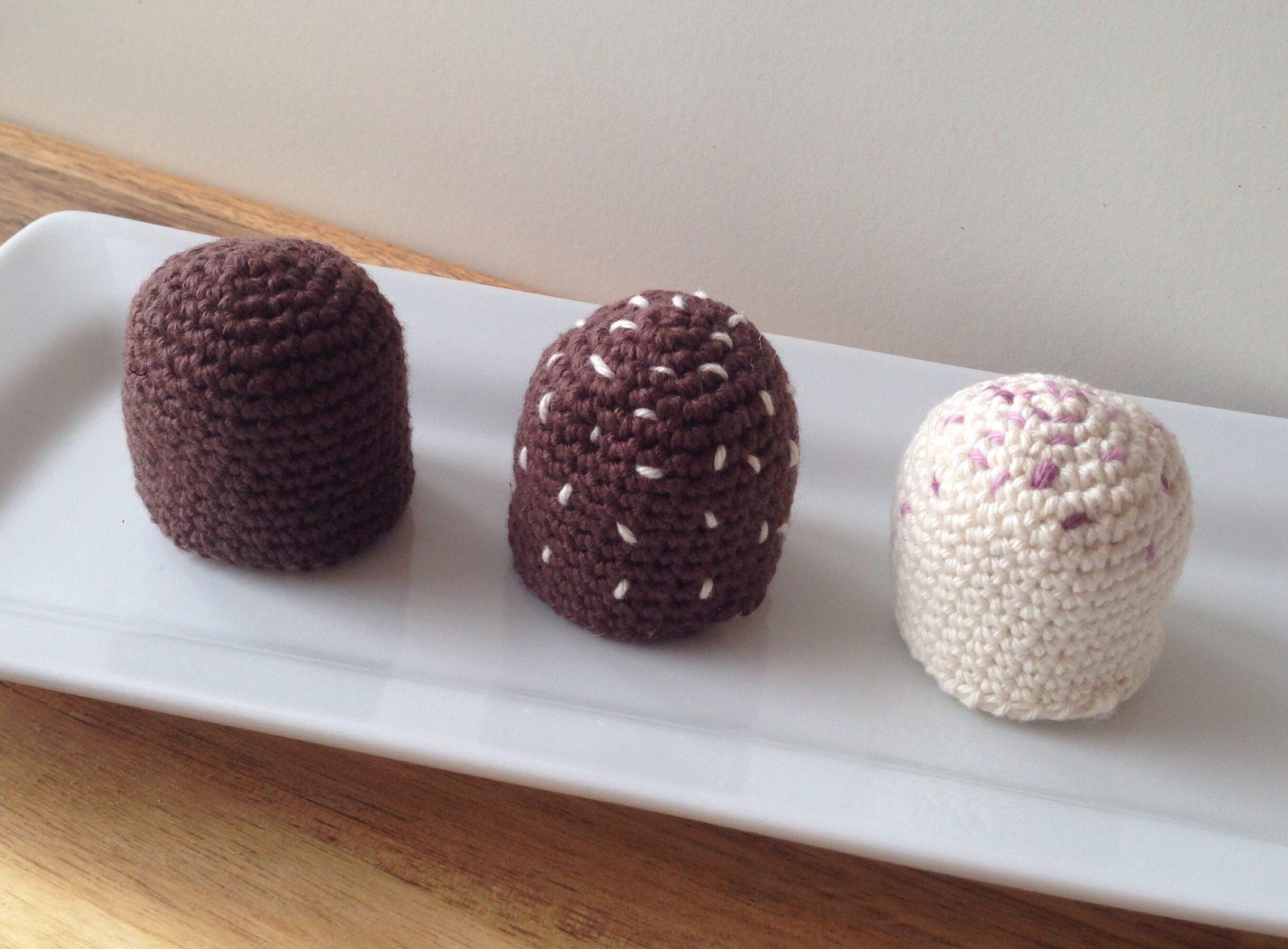 Hæklet flødebolle – opskrift