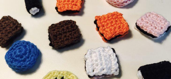 Hæklet slik – lakridskonfekt