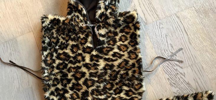 Leopard kostume – DIY