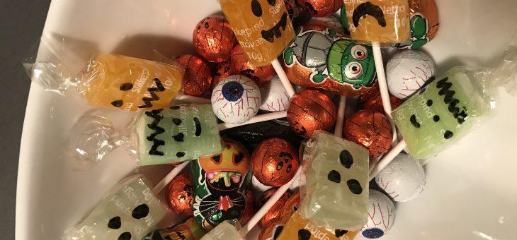 Sjov med halloweenslik